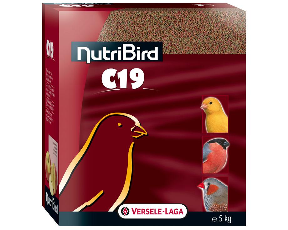 NutriBird Pellets C 19 5kg