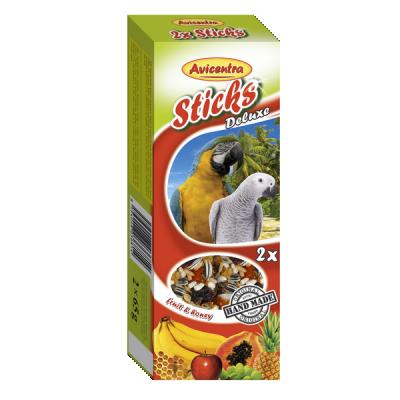 Sticks Perroquet fruits et miel