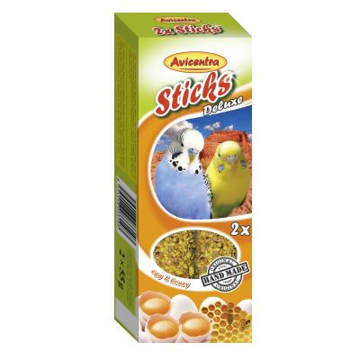 Sticks Perruches au miel/oeuf