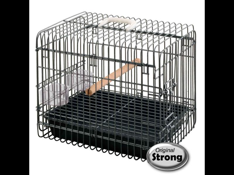 Cage transport perroquet