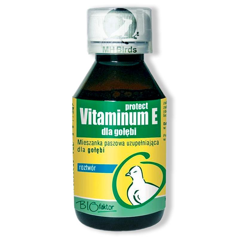 Vitamines E pour pigeons